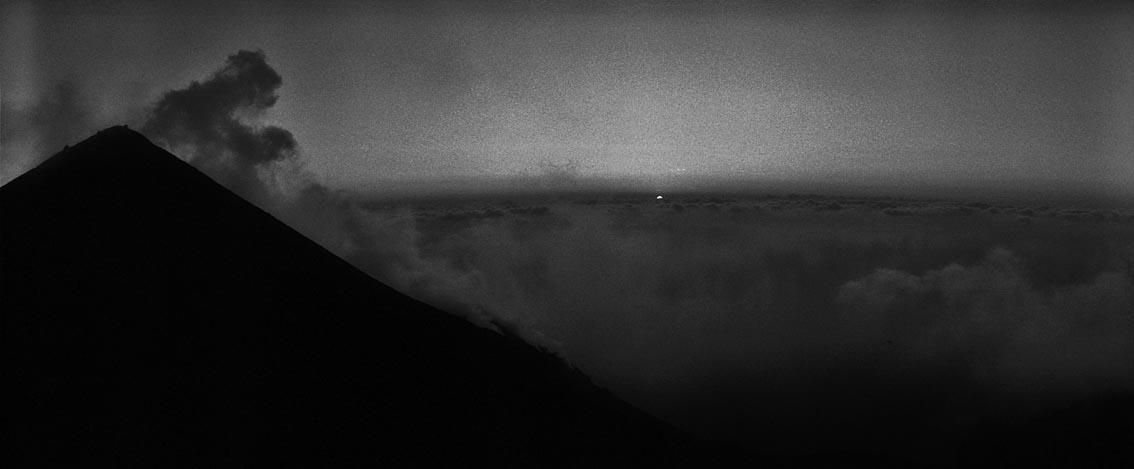 on top of the volcano - stromboli